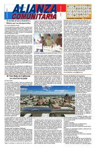 Alianza Comunitaria noviembre 2014